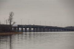 Pont de l'Île-aux-Tourtes: une 2e voie rouverte dans chaque direction lundi