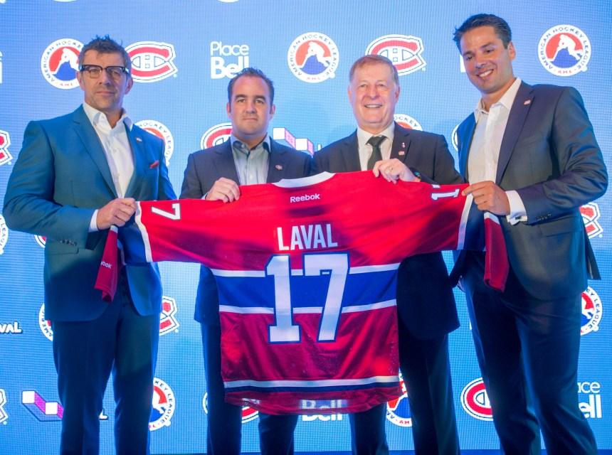 Des suggestions de nom pour la nouvelle équipe de Laval