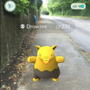 Drowzee Pokemon Go