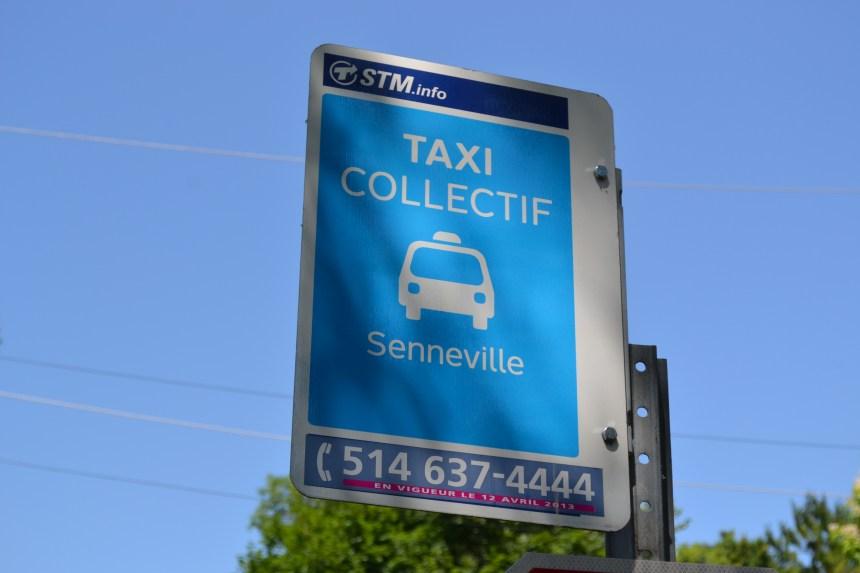 Transport en commun: la STM bonifie le taxi collectif à Senneville