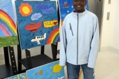 L'œuvre d'un jeune LaSallois à Sainte-Justine