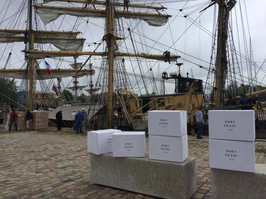 Livrer des marchandises à la voile entre la France et le Québec