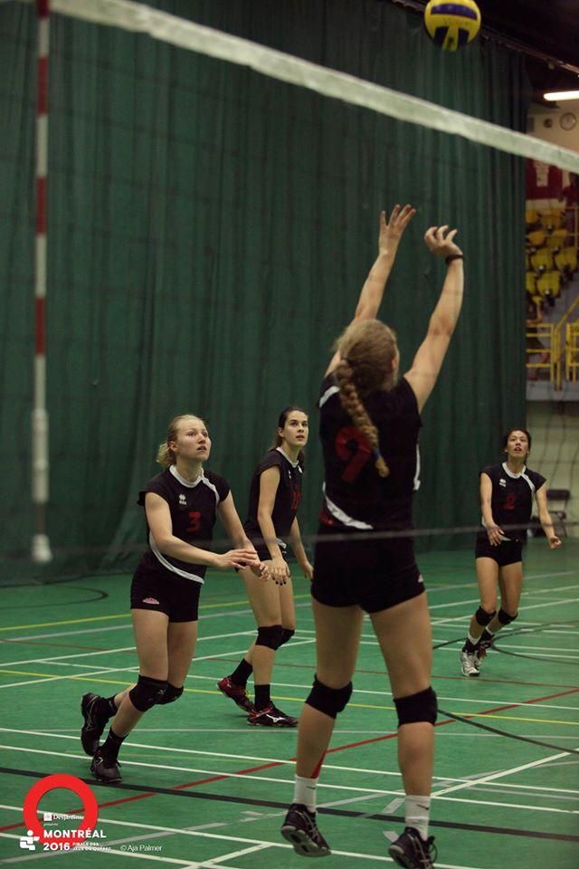 6e au volleyball