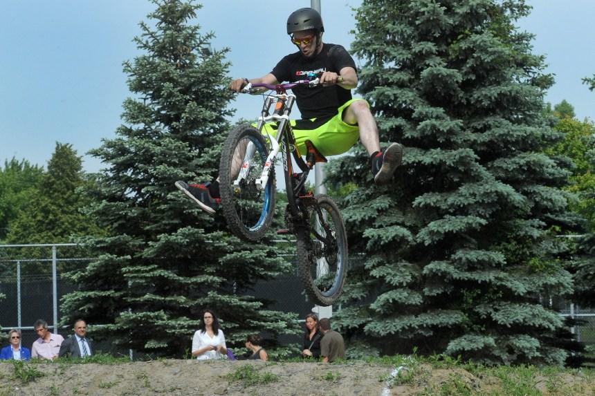Une nouvelle piste BMX pour les Jeux du Québec
