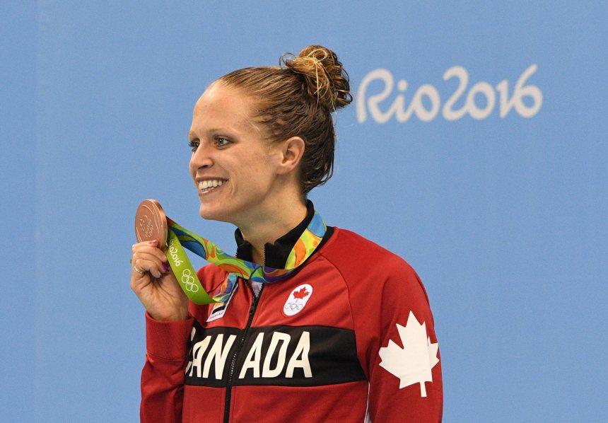 Hilary Caldwell remporte le bronze au 200m dos