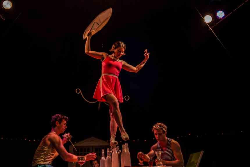 Le cirque s'invite au Festival de théâtre de rue