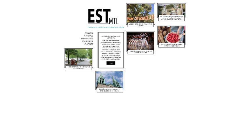 Un nouveau blogue pour célébrer l'est de Montréal