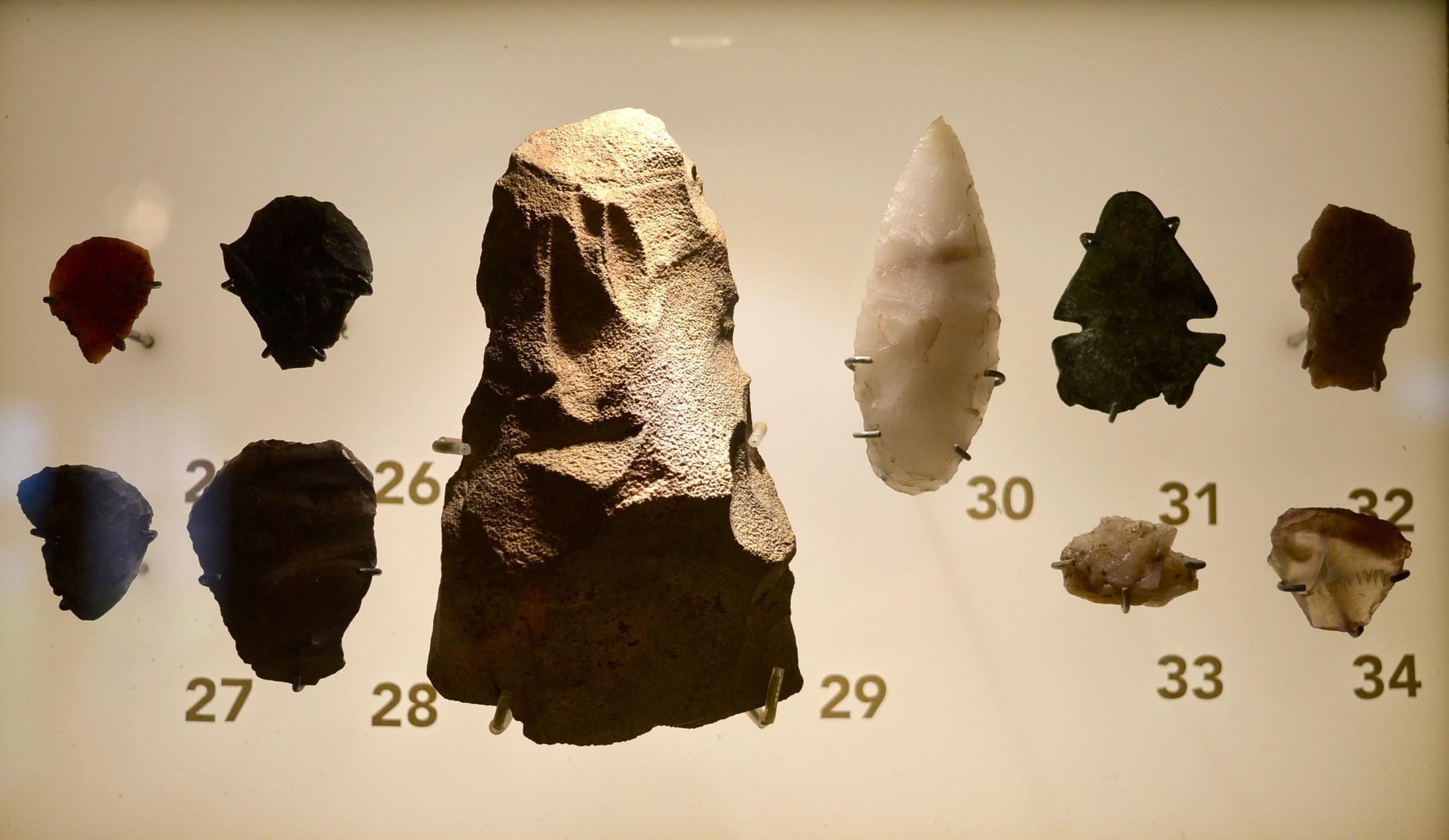 Maison Nivard - Artéfacts préhistoriques
