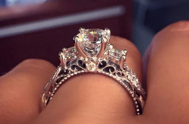 La bague de fiançailles la plus épinglée sur Pinterest