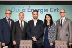 De nouveaux appuis au projet d'oléoduc d'Énergie-Est