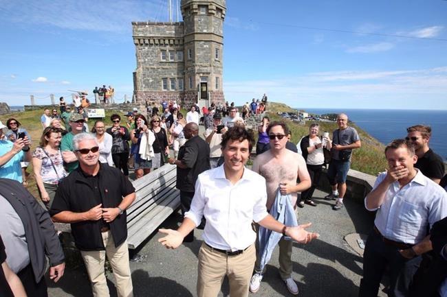 «Photobomb»: Trudeau pris à son propre jeu