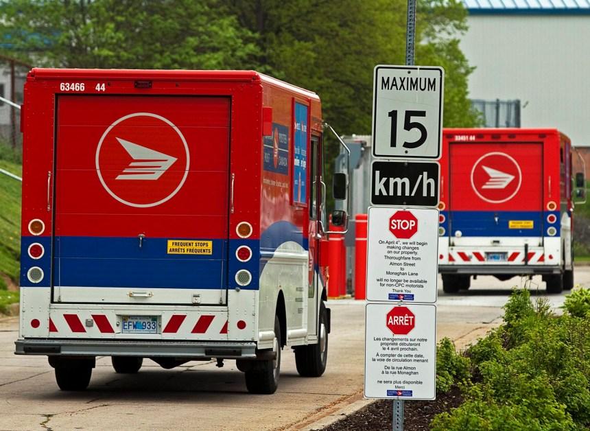 Postes Canada: les négociations dans l'impasse