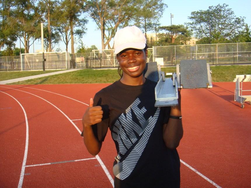 Une jeune médaillée «au talent génétique»