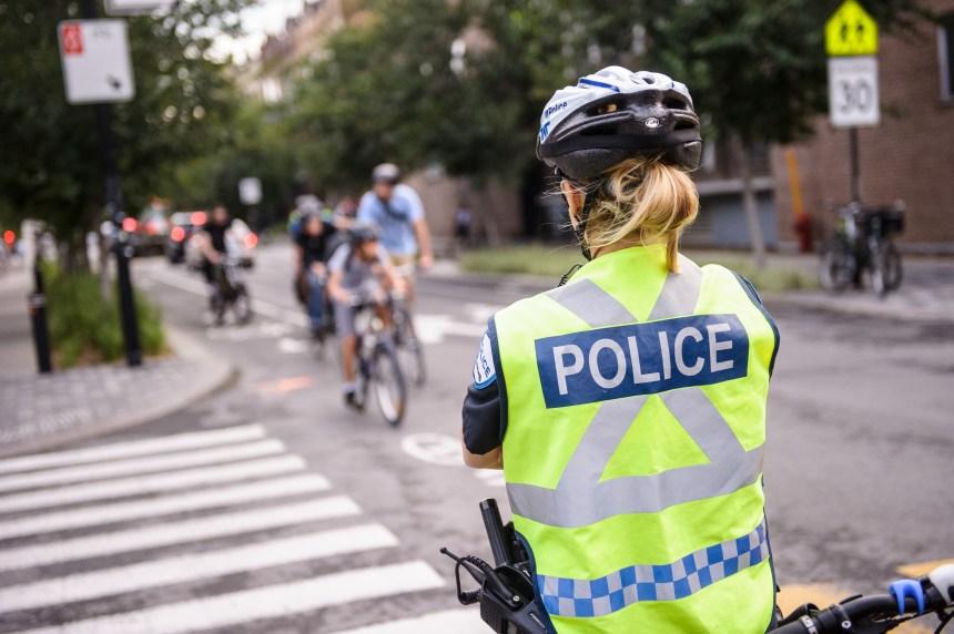 Sécurité des piétons et des cyclistes: le SPVM accusé de ne pas assez viser les automobilistes