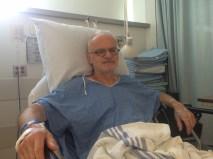 Louis Delagrave, le deuxième patient à subir cette opération avec ce même protocole se repose aux installations de l'Hôpital Maisonneuve-Rosemont.