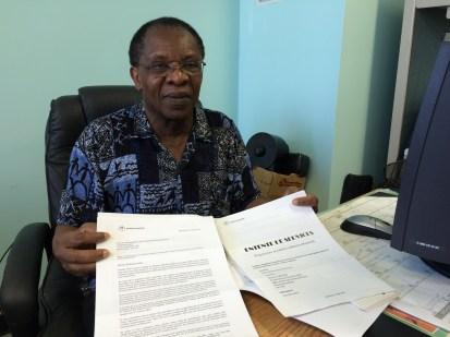 Guillaume André, directeur du Centre communautaire multi-ethnique de Montréal-Nord, a été surpris par la somme qu'il devra payer à Moisson Montréal.