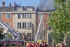 Incendie majeur dans Saint-Laurent