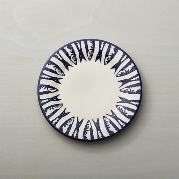 MAISON pescado-salad-plate