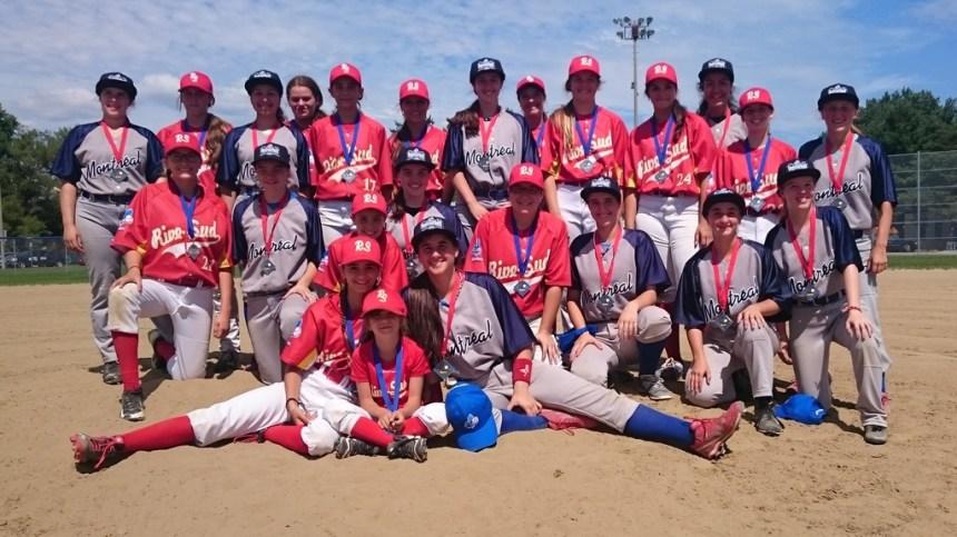 Championnat provincial de baseball: médaille d'or pour deux joueuses d'Ahuntsic