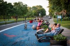 Activités estivales sur l'avenue Park-Stanley