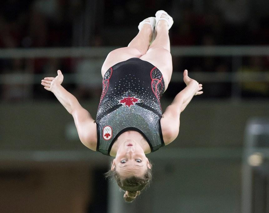 MacLennan est championne du monde en trampoline