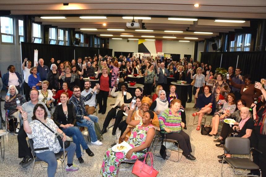 Une mosaïque collective pour soutenir le Forum social mondial 2016