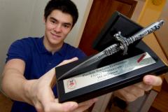 Maximilien Van Haaster: gagner sa médaille un adversaire à la fois