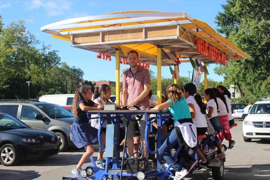 Vélos Festifs pour promouvoir le plein air