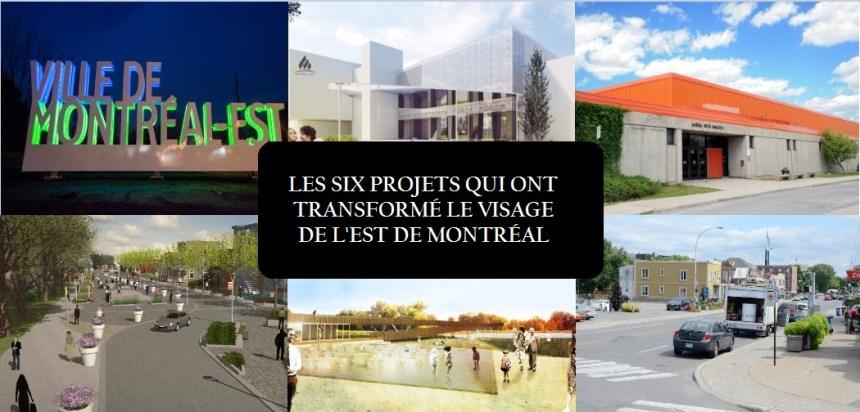 Transformer le visage de l'est de Montréal