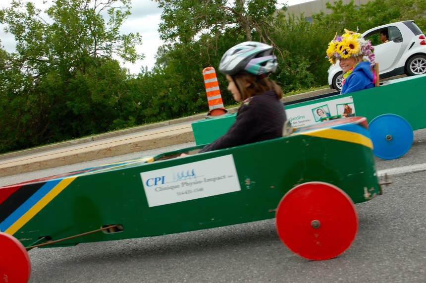 Three generations of Soapbox Derby racing in Dorval