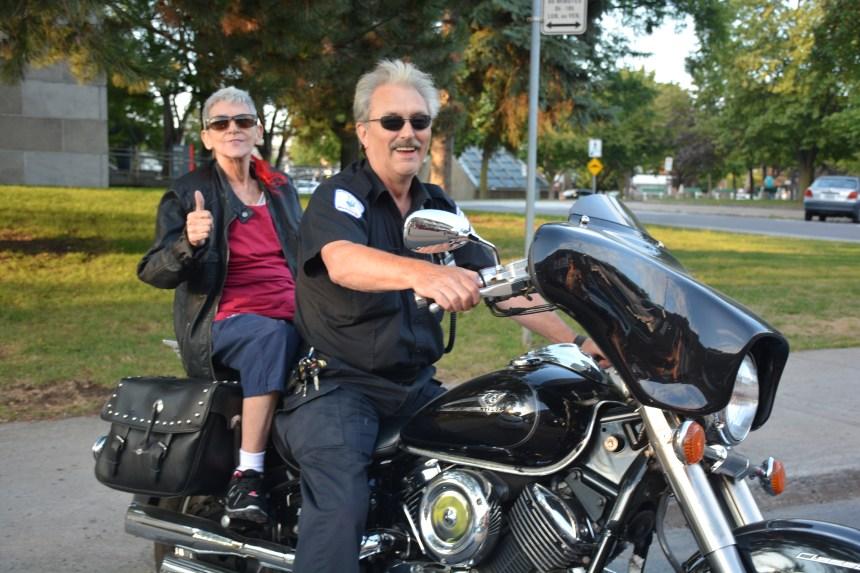 Une ride de moto pour s'évader