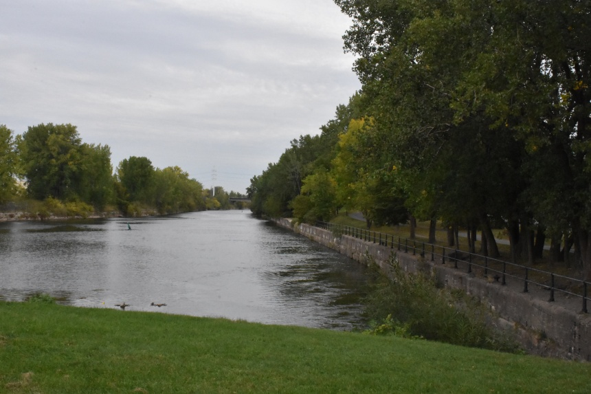 Fin des débordements dans le canal de Lachine