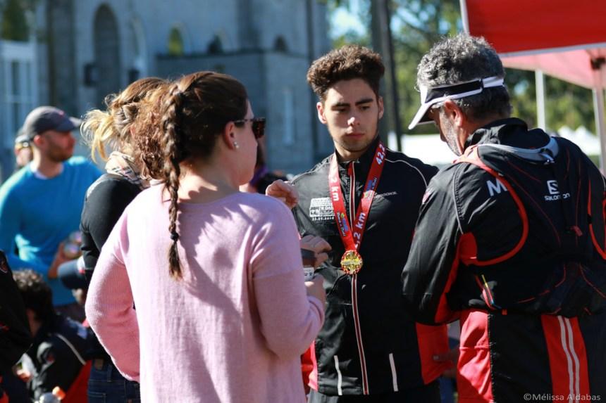 À 16 ans, cet élève de l'école Henri-Bourassa termine son premier marathon
