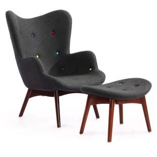 Chaise Longue et Ottomane Style Featherston