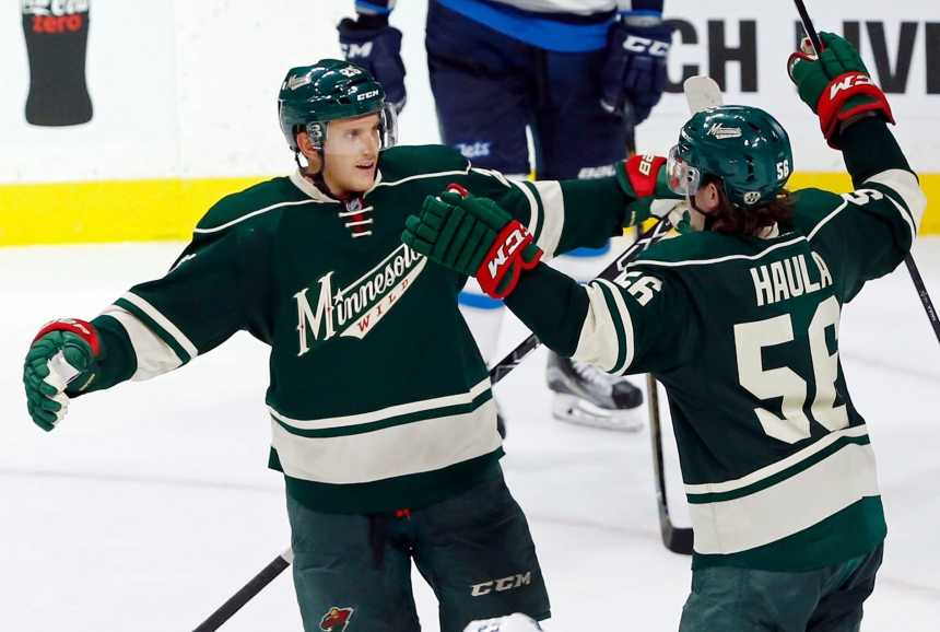 Les Hurricanes font l'acquisition d'Erik Haula