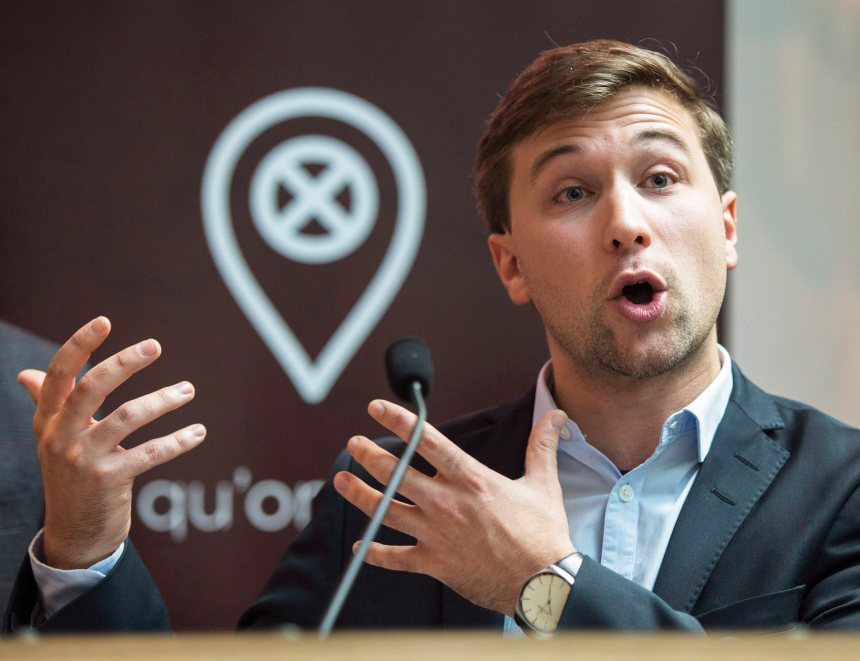 Gabriel Nadeau-Dubois se lance en politique avec Québec solidaire