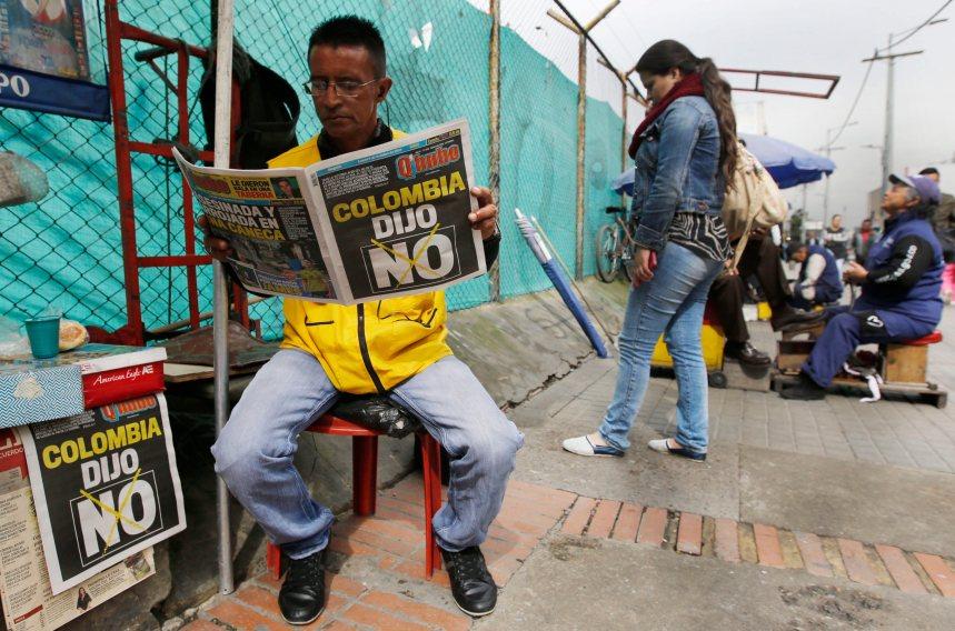 La Colombie face à l'inconnu politique