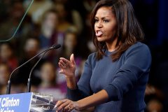 Michelle Obama réplique à Donald Trump