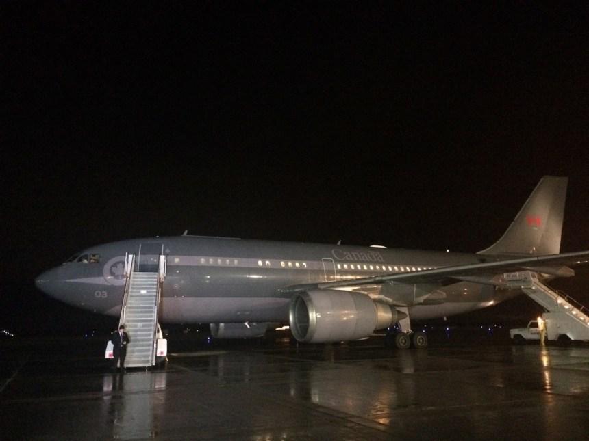 L'avion de Justin Trudeau a finalement décollé