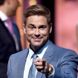 LOS ANGELES, CA - AUGUST 27: Honoree Rob Lowe onstage at The Comedy Central Roast of Rob Lowe at Sony Studios on August 27, 2016 in Los Angeles, California. The Comedy Central Roast of Rob Lowe will premiere on September 5, 2016 at 10:00 p.m. ET/PT. (Photo by Alberto E. Rodriguez/Getty Images)