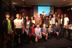 Des jeunes rencontrent leur député