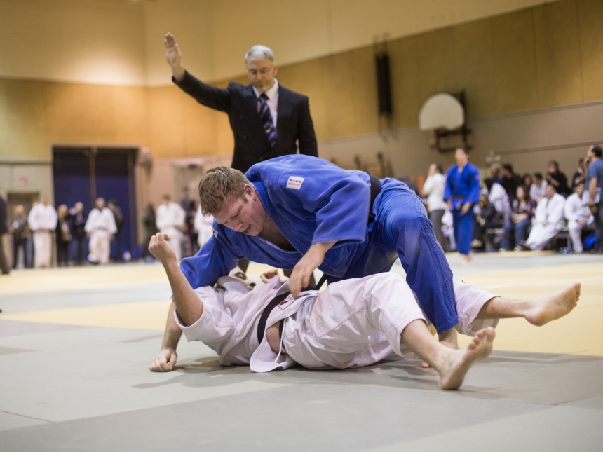 La crème du judo canadien au centre Gadbois