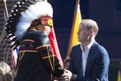 Les Premières Nations au coeur de la visite royale