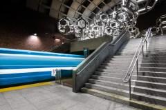 L'architecture du métro sous la lentille d'un photographe