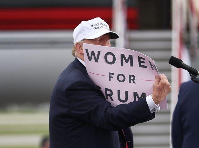 Des supporters de Donald Trump veulent enlever le droit de vote aux femmes