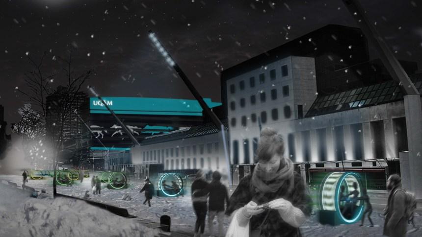 Découvrez Loop, la nouvelle oeuvre de l'événement Luminothérapie