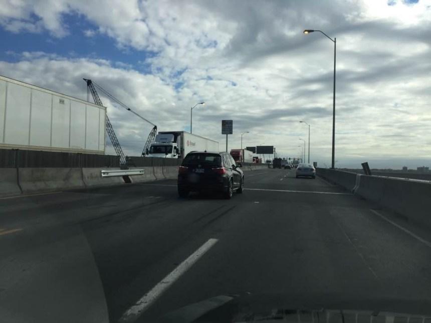 Les camions en surcharge interdits sur Champlain