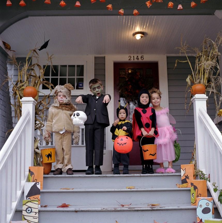 Enfants-Retour:bons réflexes pour l'Halloween