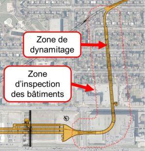 Zone d'inspection des bâtiments