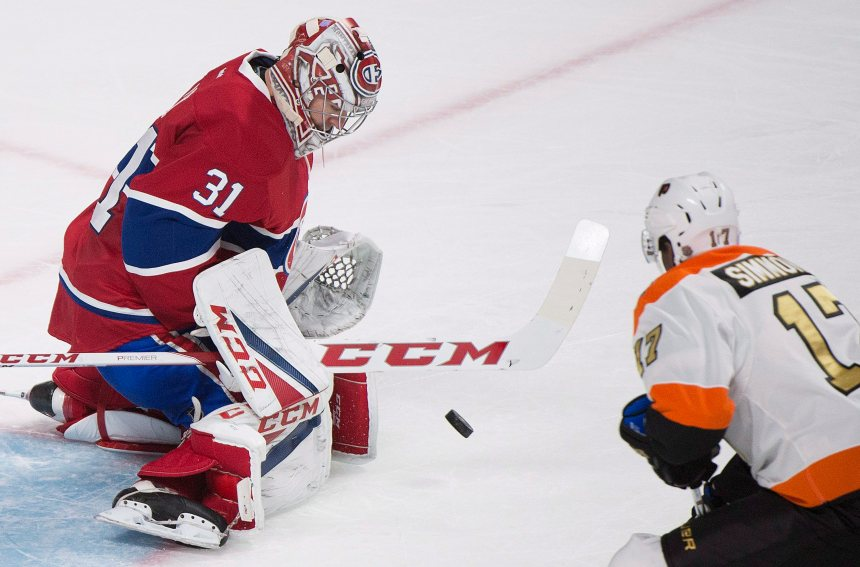 Price sauve le Canadien face aux Flyers, 5-4